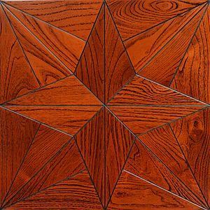 Teak sheets wooden flooring carpet cleaner art craft floor Furniture cover wall cladding home gardening wallpaper art parquet tile medallion