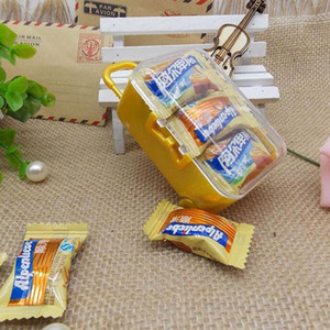 Clear Mini Rolling Travel Suitcase Favor Box Wedding Favors Party Reception Candy Package Baby Shower Ideas 100PCS