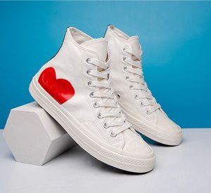 2021 Chuck 70 Big Eyes Play 1970S Multi Heart 70s Hi Canvas Shoes Classic Comune Name Skateboard Trainer Casual Sports Sneakers Dimensioni 35-44