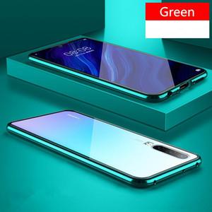 Новый магнитный поглощение металлический корпус для Huawei P20 P20PRO P20LITE телефон задняя крышка двухстороннего стекла Huaweip20 Pro Lite Bag H JLLNQI