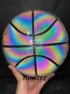 Baloncesto Profesyonel Erimiş GG7X GG7 Kapalı Açık Özel PU Basketbol Topu