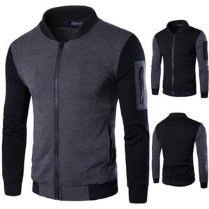 New arrival mens designer jackets British temperament men's collar jacket mens designer winter coats hoodie Y401