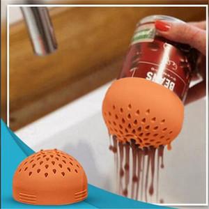 4 farben micro silikongespräch mehrzweckgesiez multi kleine doced filter trichter für küche home zubehör dha2860