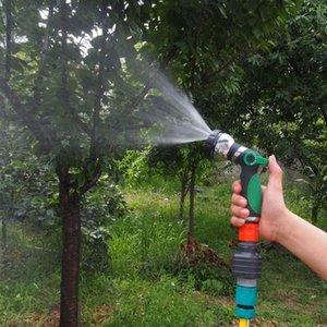 8 mod ot sulama su püskürtme tabancası araba yıkama bahçe sulama için su basıncı bahçe yağmurlama çim sulama nozzle