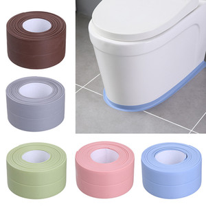 3.2m Waterproof Wall Sticker Adhesive Tape Sealing Strip Self-adhesive Tape for Bath Tub Toilet Gap Free DHL