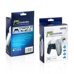 Custodia in plastica PS5 Controller Shell di cristallo PS5 PS5 Custodia protettiva trasparente per PlayStation 5 Controller di gioco wireless Accessori PS5