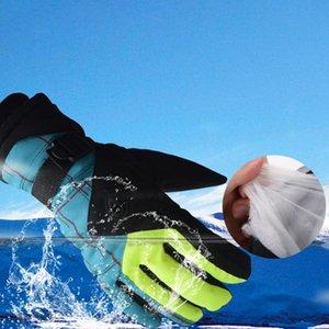 Thermal Ski Snow Gloves Women Winter Waterproof Warm Touchscreen Gloves Skiing Riding Motorcycle Snowboard Hiking Fishing