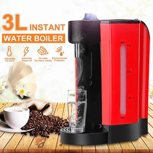 3L 2000W Electric Water Boiler Instant Heating Electric Kettle Water Dispenser Temperature Adjustable Office Coffee Maker