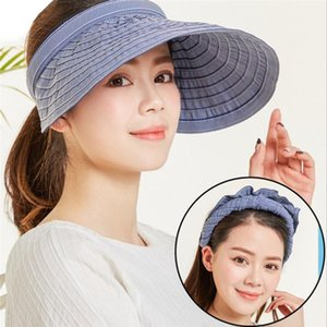 Summer Hats For Women Sun Visor Cap Beach Hat Ladies Sun Hat Female Sports Headband Hairband Suncreen Visor