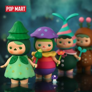 POP MART Pucky Forest fairies Toys figure blind box birthday figure free shipping Q1123
