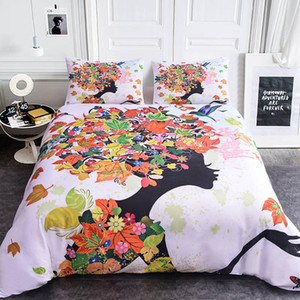 Luxury House 3D Tree Elf Tree rose Dream Catcher Printed Bedding Sets 2 3pcs AU EU UK US Double King Size Comforter For Home