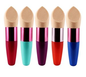 Makeup Sponges Puff with Handle Foundation Brush Sponge Flawless Concealer Brushes Cosmetic Sponge Puff Beauty Tool SN1785