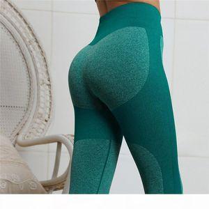 Seamless Hip Lift Sports Yoga Fitness Stretch Pencil Pants Sliming Training Running Skinny Trouser pant Women Leggings Clothes 220216