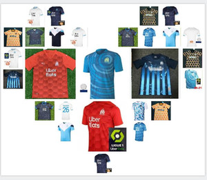 # 10 Payet Maillot de Football 2020 2021 Thauvin Radonjic Soccer Jerseys Sanson Benpayet Benedetto Gustavo Camicia calcio