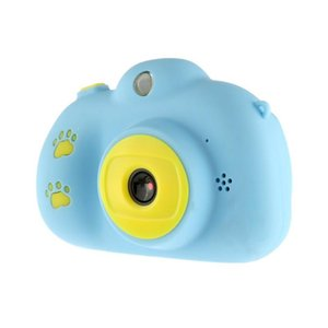 Pantalla HD Mini cámara digital Chargable Niños Dibujos animados Lindo Cámara Juguetes Impermeables Aparto Fotografía Prórdiciones para el Regalo Niño