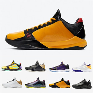 Bruce Lee Drop Shipping 5 Proto Big Stage PE Mens Scarpe da basket Alternate La II 5s Prelude Black Men Formagers Sneakers Sport 7-12