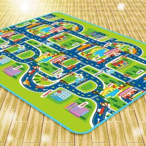 Carpet Carpet Carpet Toy Toddler Baby Child Crawling Play Fun Car City Traffic Game Z1123