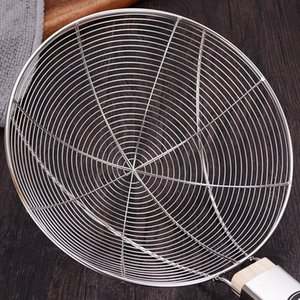Net leakage of stainless steel kitchenware Kitchen supplies Soymilk filter screen Leakage of fruit juice with wooden handle