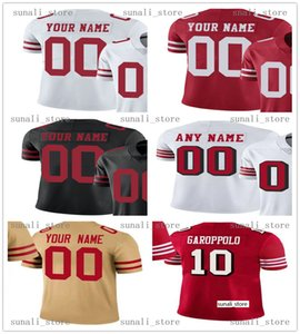 Statched New 7 Colin Kaepernick 16 Joe Montana 80 Jerry Rice 8 Steve Young 42 Ronnie Lott 21 Deion Sanders 33 Roger Craig 44 Rathman Jersey