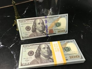 Hot Sales Fake Money Movies Prop 100 Dollars Bank Note Counting Paper Money Festive Party Games Collection Gifts