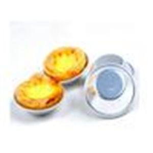 Кубок Pastel de nata яичный пирог алюминиевый торт 7 * 2.5см пудинг стенд торты прессформы 50шт.