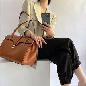Сумки на плечо Мягкая натуральная кожаная сумка для женщин мода женщин платина высококачественный досуг стиль сумочка большая емкость коровьей