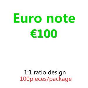 588 Simulation 100euro ruppors Валютный доллар Game Gifts Горячая распродажа Бар реквизит Доллар Биллс Детская игрушка