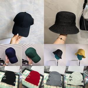 Для подарка с коробкой 2020 новое прибытие бейсбольная кепка ведра шляпа мужские женские гольф вышивка шляпа шляпа Snapback спортивные колпачки солнцезащитные шляпы 20ss