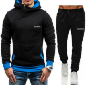 Men set sweatsuit Brand Tracksuit Mens Womens hoodies+pants Mens Clothing Sweatshirt Pullover Casual Tennis Sport Tracksuits Sweat Suits