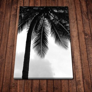 New HD Palm Retro Art Poster Canvas Painting Posters and Prints Wall Art Picture for Living Room Home Décor