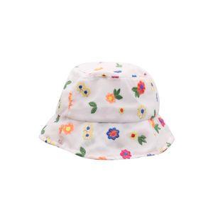 New Korean Style Flower Lace Mesh Bucket Sun Hat Spring Summer Flat Bucket Hat Fashion Ladies Breathable Fedora Visor Hat Nz141 H jllWGR