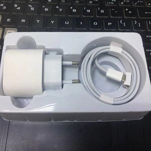 Nouvelle DHL pour IP8 Plus XS XR 11 12 PRO Max 20W PD Fast Chargement rapide US EU Chargeur mural USB Câble USB Type C Port Adapter Set