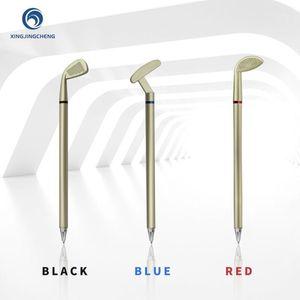 3 Color Gel Ink Golf Pen Gift for Golfer Office Signing Miniature Model Golf Club Pens ABS Club Head Blue Red Black Japan Ink1