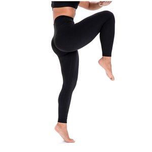 Aynı yoga pantolon Lulu yüksek bel ve kalça ms sıkı