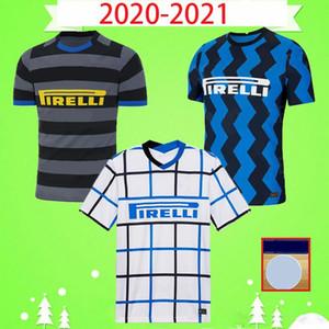 NCAA ERIKSEN LAUTARO HAKIMI 2020 2021 Soccer Jersey BARELLA DE VRIJ LUKAKU 20 21 Maillot de Foot Men Kids Kit Football Shirt