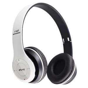 Das billigste Headset drahtlose Bluetooth-Stereo-Kopfhörer Faltbarer Sport-Kopfhörer handfree MP3-Player Noise-Canceling für Andorid-iPhone