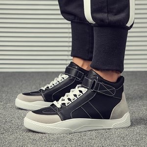 Hot Men Boots Fashion Male Shoes Autumn Winter Footwear for Man New High Top Casual Sneakers Adult Krasovki Sapato Zapatillas