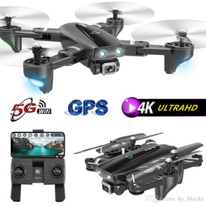 S167 GPS Drone Con 4K Camera 5G WIFI FPV RC pieghevole Quadcopter off-Point volanti Gesture Foto Video Elicottero del giocattolo