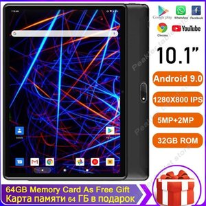 2020 Super Tempered 2.5D Screen 10 inch tablet PC Android 9.0 OS Quad Core 2GB RAM 32GB ROM Wifi GPS Tablet With Free Gifts1