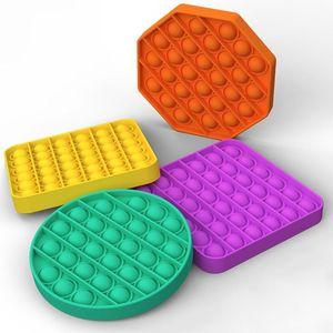 Pop It Fidget Toy Sensory Push Pop Bubble Fidget Sensory Toy Autism Special Needs Anxiety Stress Reliever for Kids Adults