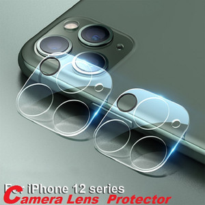 Camera Film Tempered Glass for iPhone 11 Pro Max 12 Mini Max for Samsung S20 Ultra Camera Lens Screen Protector Full Cover With Retail Box