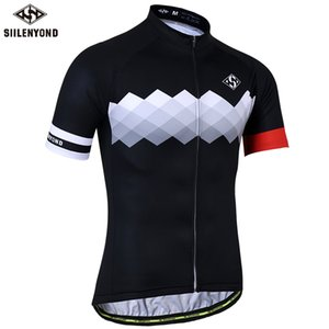 SIILENYOND Quick Dry Cycling Jerseys Summer Short Sleeve MTB Bike Cycling Clothing Ropa Maillot Ciclismo Racing Bicycle Clothes Q1205