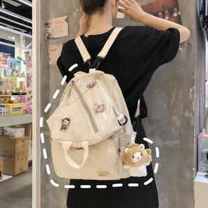 Mori Mochilas para Mujeres Harajuku Schoolbag Femenino Coreano Ulzzang Mochila Mochila Japanese Irregular Multi Propósito Bolsa