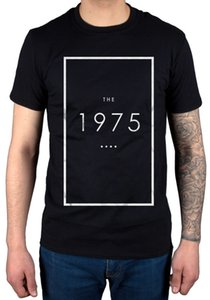 Official The 1975 Original Logo T-Shirt Unisex Music Band IV Vintage Tour Band Print Short Sleeve T Shirt The New