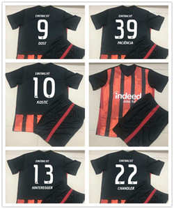 20 21 Eintracht Frankfurt DA COSTA Kids Kit Soccer Jerseys HINTEREGGER SOW KAMADA Home Away 3rd Child Football Shirt SIA KOSTIC Uniforms