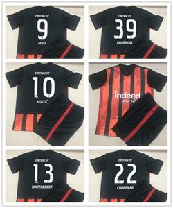 20 21 Eintracht Frankfurt DA COSTA Kids Kit Soccer Jerseys HINTEREGGER SOW KAMADA Home Away 3rd Child Football Shirt SIA KOSTIC Uniforms