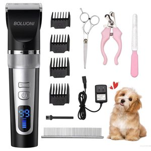 Free shipping manufacturers direct sales Dog Clippers Cordless Dog Shaver Professional Dog Grooming Clipper Rechargeable