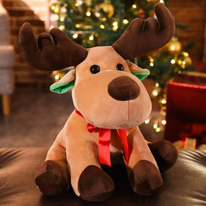 Life Pavilion Doll Christmas gifts Elk stuffed toys, dolls, baby deer, atmosphere props, Christmas Eve gifts