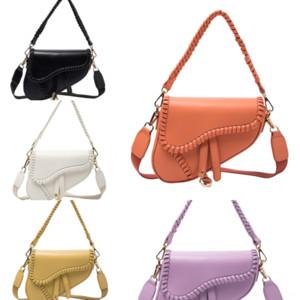 WRGIC Женская сумка Smples Bag Pugher Bag Designer Retro Crossbody Сумка Lady Y Роскошная мода Dener Bag Pheck Loolou Designer