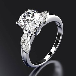 NOYESUC 100% Solid 925 Sterling Silver luxury Wedding Engagement Rings For Women Pink Ring drop shipping